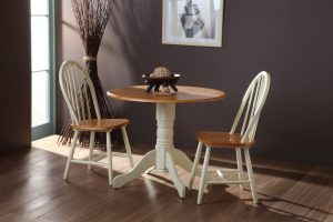 Brecon Buttermilk Dining Table + Windsor