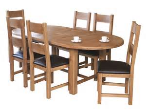 Hampshire Extending Oval Dining Table 6 Chairs 15Sale