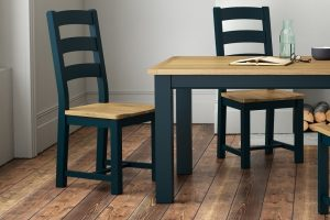 Charcoal Table & chair