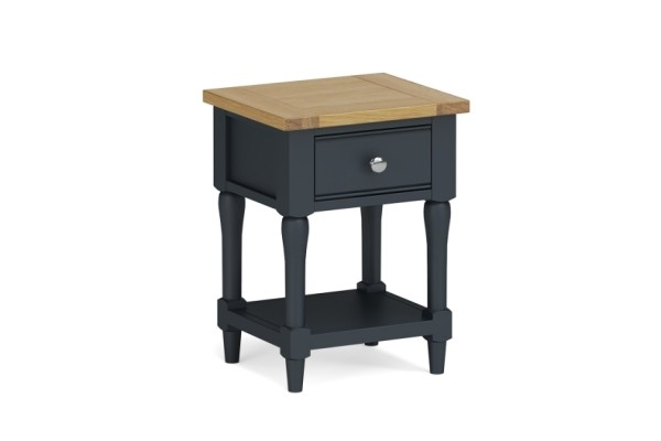 Charcoal Lamp Table