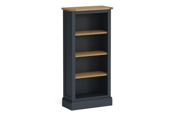 Charcoal Slim Bookcase