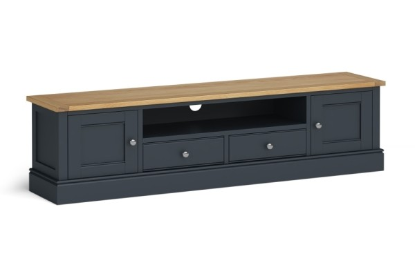 Extra Long Charcoal TV Unit