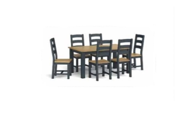 Charcoal 1.5 m Dining Set