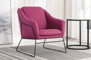 A Berry Coloured Occasional Chair